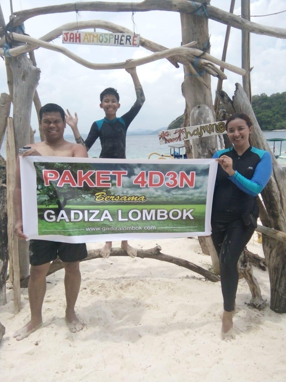 Paket 4 Hari 3 Malam Lombok