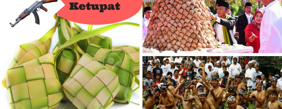 War of Ketupat (Perang Ketupat), Tradisi Unik di Lombok