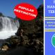 Pantai Nambung Fenomena Air Terjun Asin di Lombok