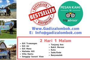 Best Seller Paket Wisata Lombok 2 Hari 1 Malam