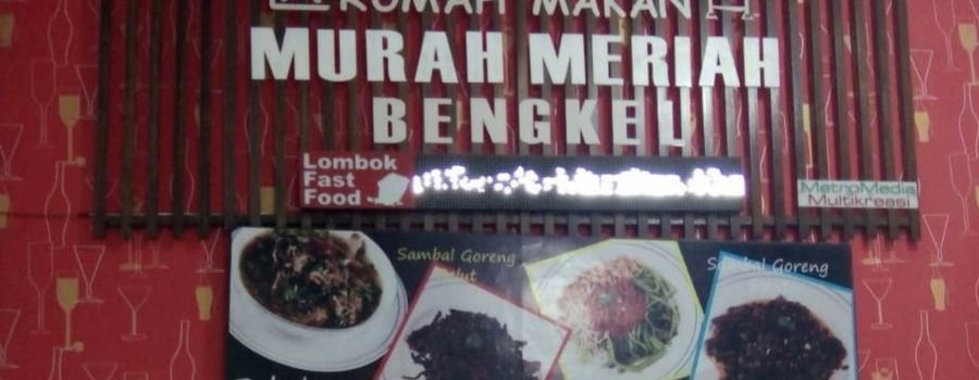Rumah Makan  Bengkel, Alternatif Makanan Selain Ayam  Taliwang Lombok