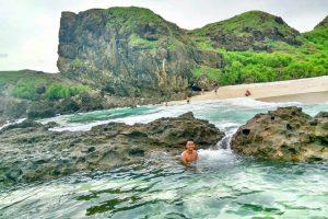 Tanjung Bongo, Pantai baru dengan Jacuzzi di Lombok Selatan