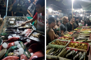 Berburu Kuliner Seafood di Pasar Malam Gili Trawangan