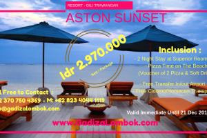 Promo Hotel Aston Gili Trawangan Periode Oktober –  Desember 2018