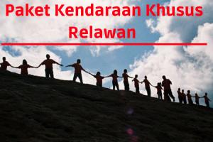 Harga Special Kendaraan Untuk Relawan Gempa Lombok