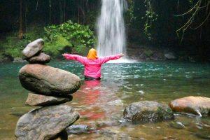 3 Air Terjun Rahasia di Sekitar Benang Stokel dan Benang Kelambu Lombok