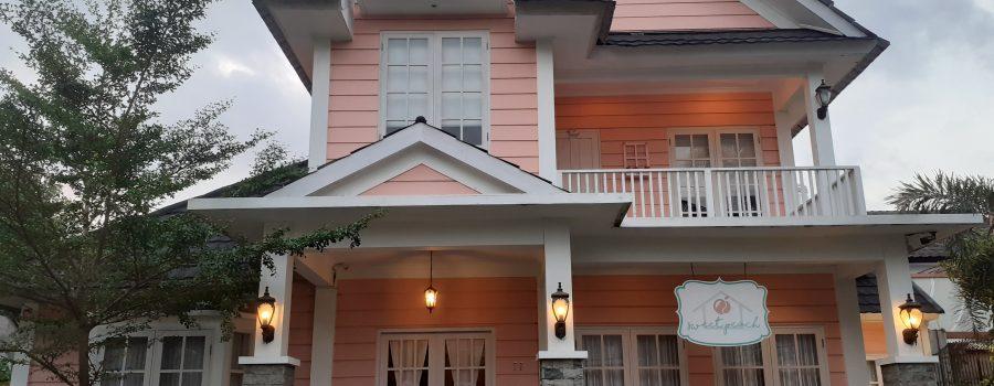 Sweet Peach House, Villa Kekinian Kapasitas Hingga 22 Orang di Lombok