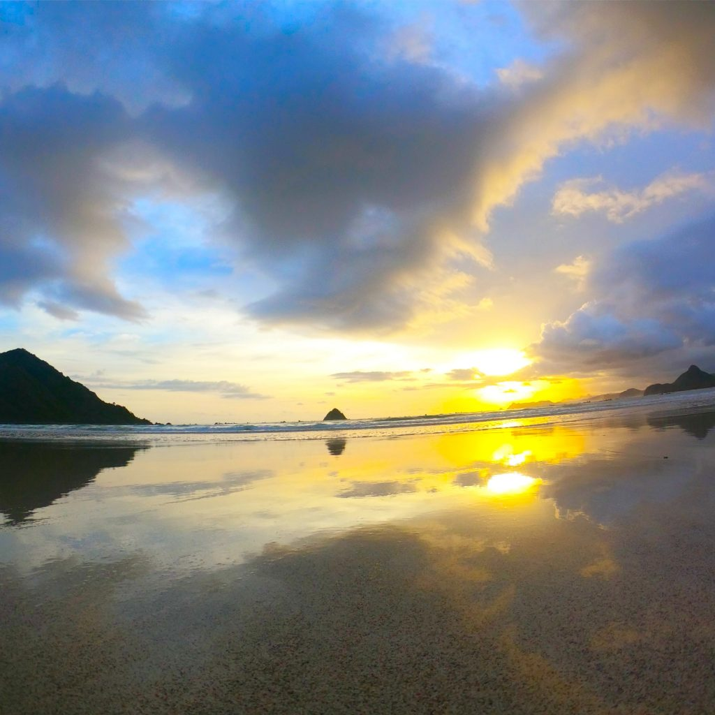 Sunset View Selong Belanak