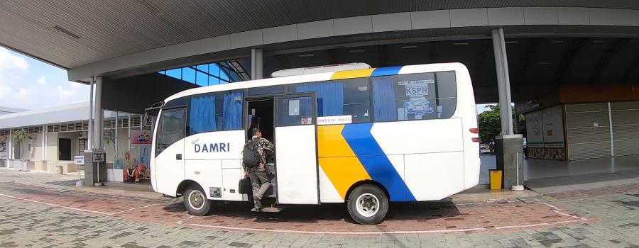 jadwal dan tarif damri di airport lombok